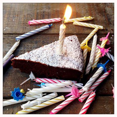 Mon gâteau d'anniversaire (pour Amélia et moi aussi)