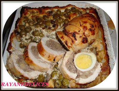 samira tv cuisine poulet desosser farci