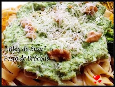 Pesto de Brócolis à Minha Moda (fácil)
