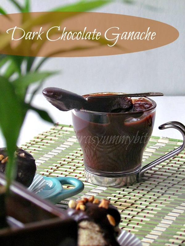 Ganache / How to make chocolate ganache