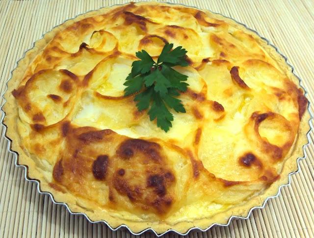 Quiche de Batata (Sem Glúten)