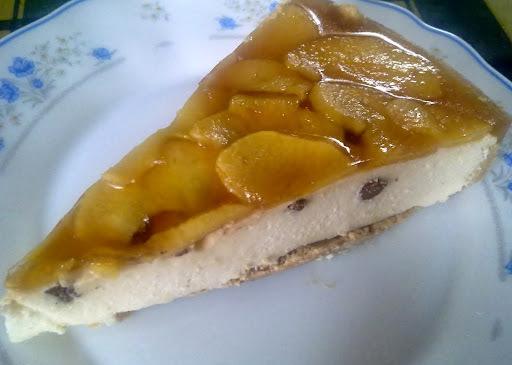 Tarta de Queso de Burgos y Manzana