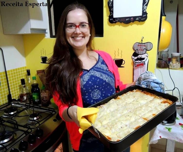 LASANHA + FONDUE DE CHOCOLATE + JANTAR EM CASA