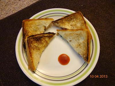 Creamy Quick Sandwich