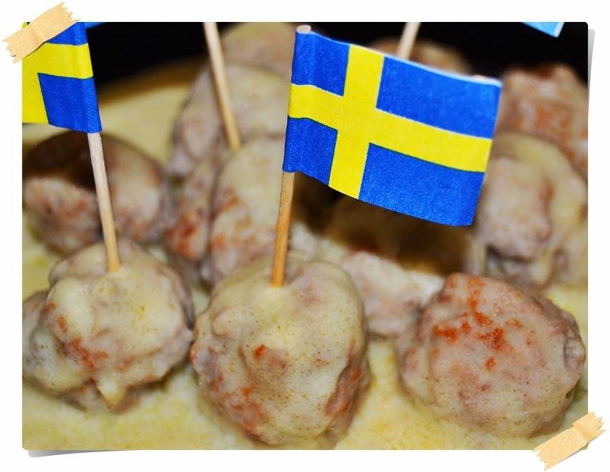 Albóndigas Suecas en salsa