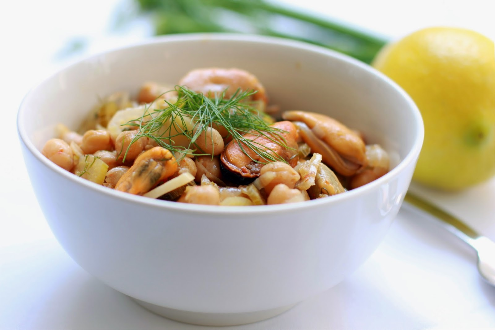 Mussels, Fennel & Chickpea Stew