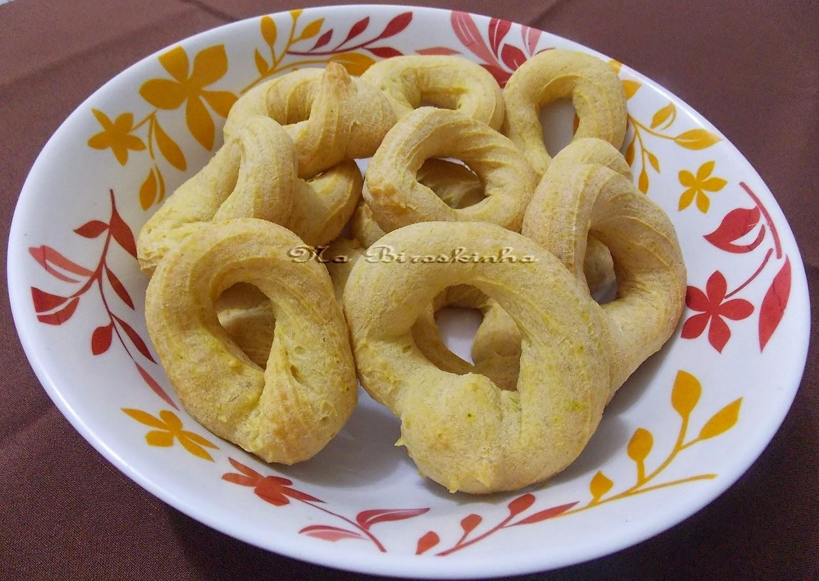 Biscoitos de Polvilho com Curry