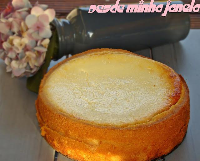 Bolo de queijo (Käsekuchen)