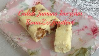 Gulab Jamuns Icecream