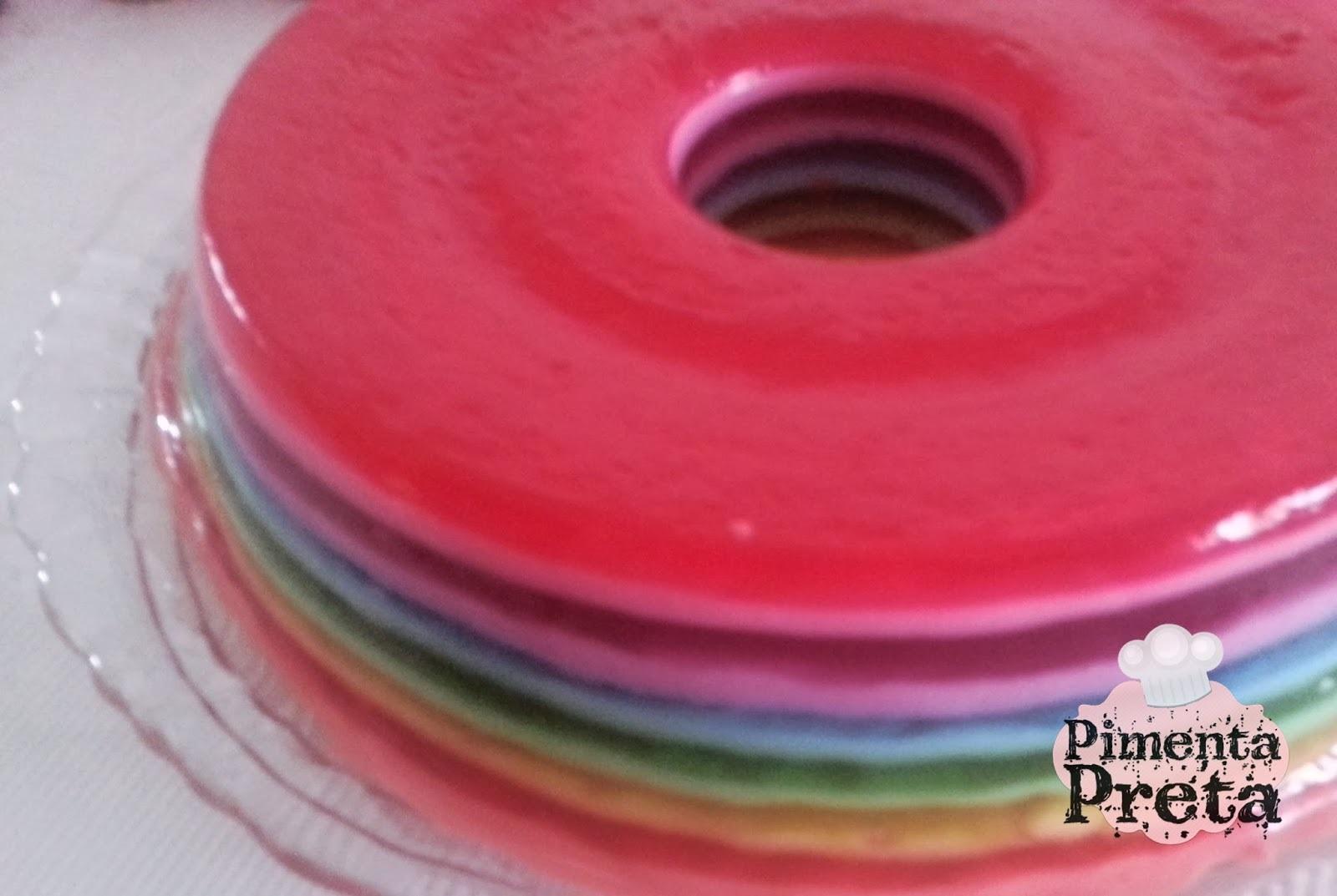 Gelatina de arco-íris
