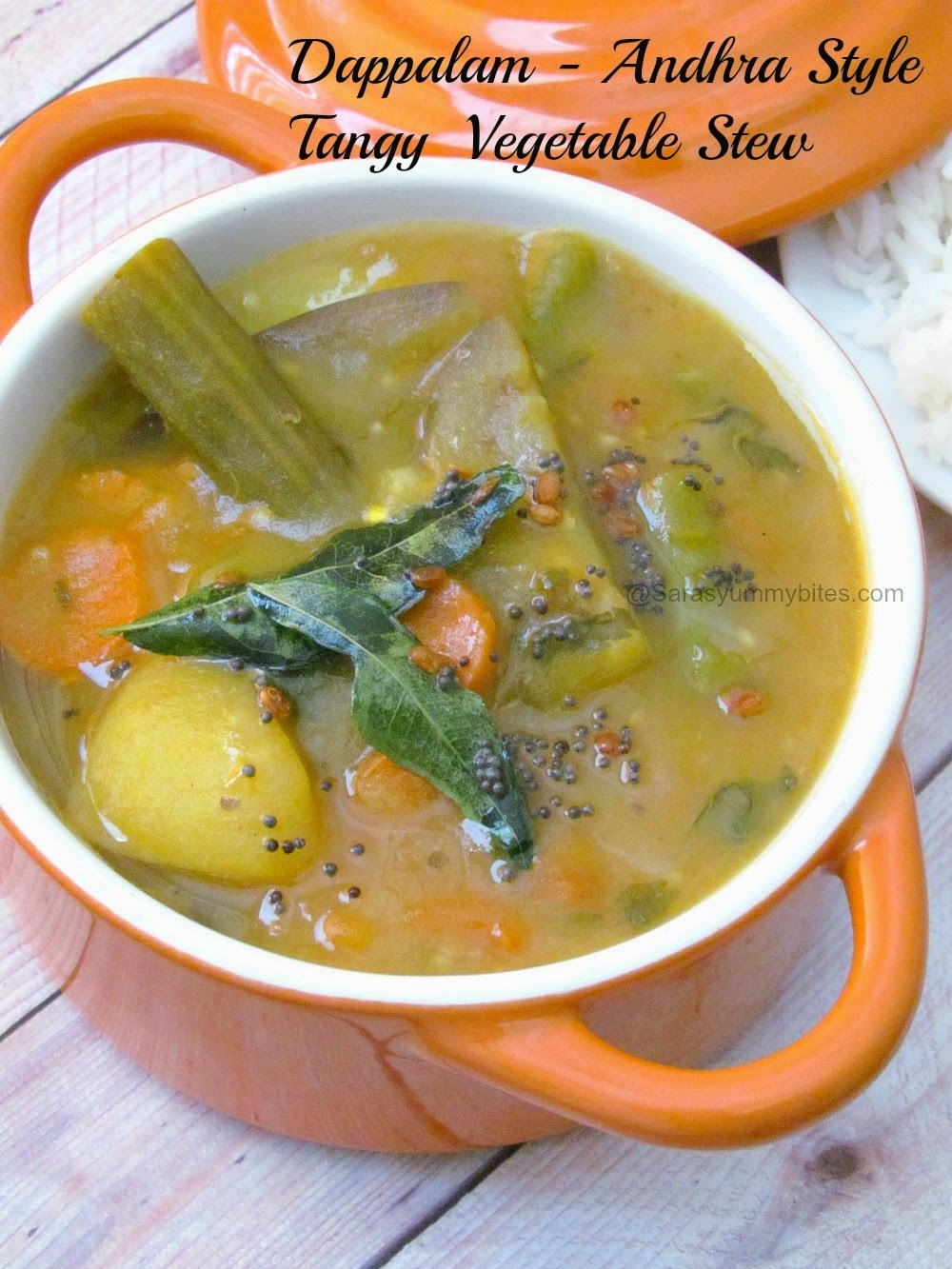 Dappalam/ Dhappalam - AndhraPradesh Tangy  Vegetable Stew