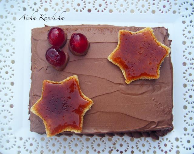 TARTA DOBOS DE CHOCOLATE