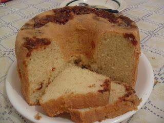 calda de laranja grossa para bolo