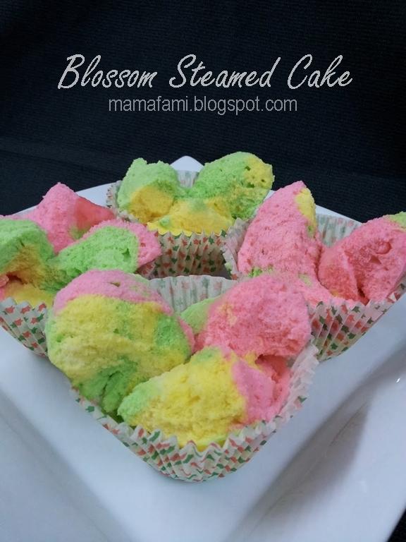 Blossom Steamed Cake