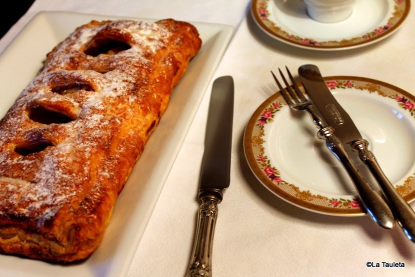 Tarta de Manzana fácil o falso Apfelstrudel  [Super Tarta de Manzana]