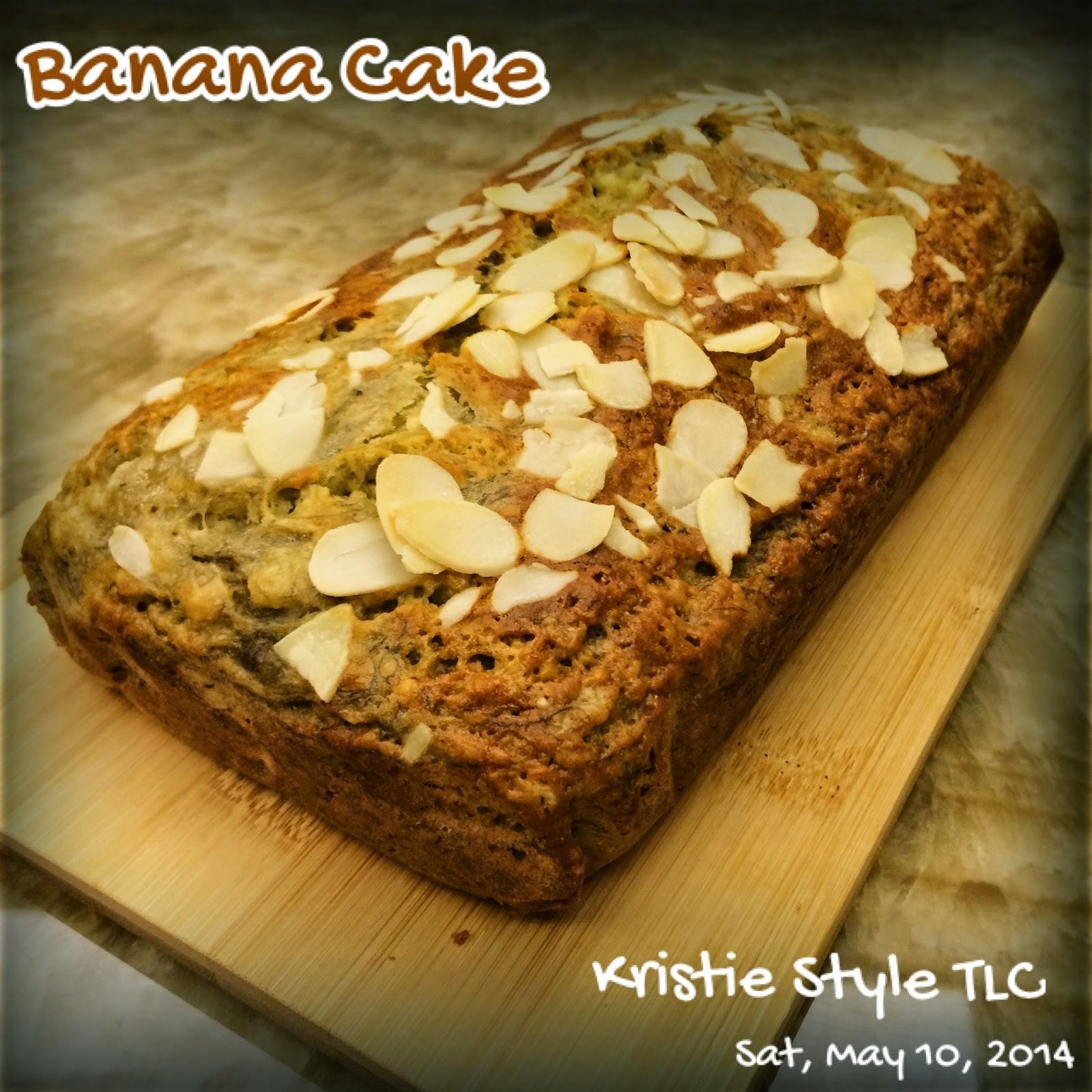[食譜-蛋糕] 香蕉蛋糕 - 人人都可以是大廚