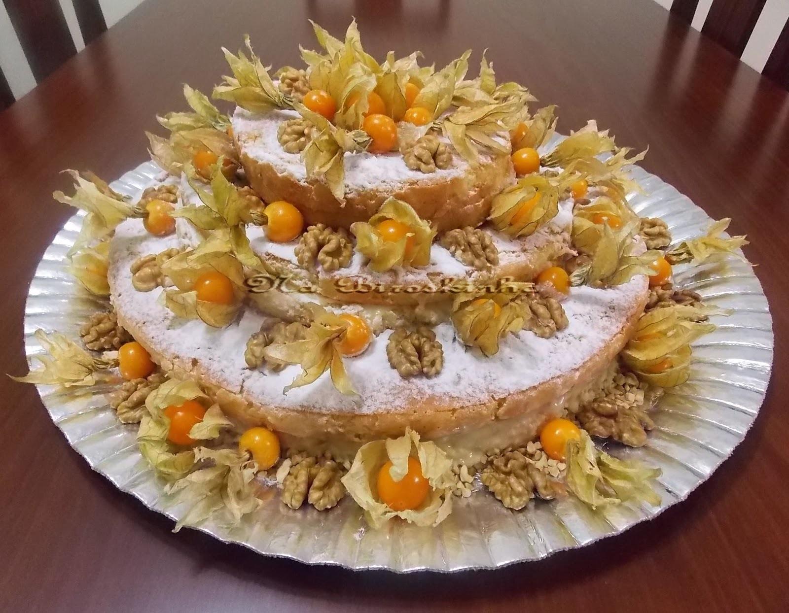Naked Cake com Recheio de Brigadeiro de Limão Siciliano