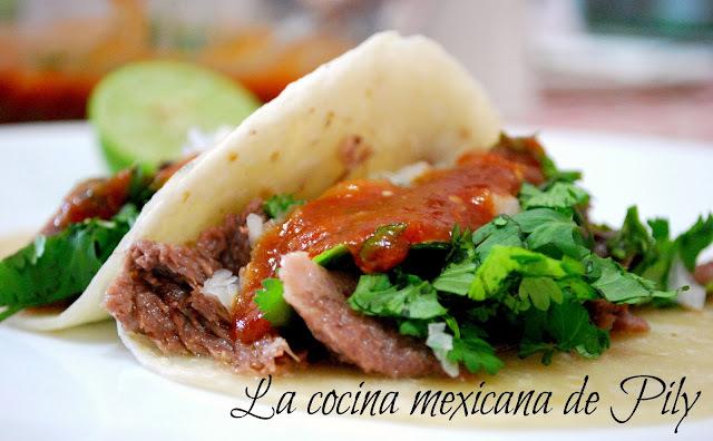 Barbacoa de lengua estilo Piedras Negras, Coahuila