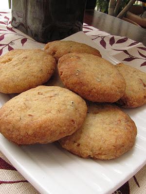 Eggless Cardamom & Almond Cookies