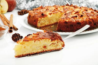 Torta de manzana sin manteca