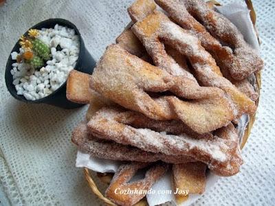 Crostoli para a Blogagem Coletiva Brie com Goiabada