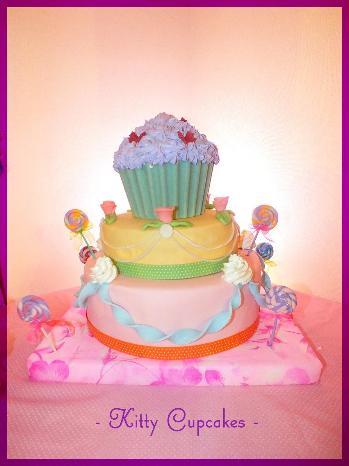 La torta Candy de Cumpleaños y de 3 pisos!!