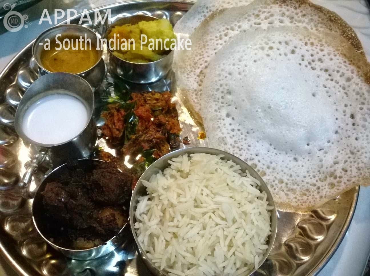 Appam -a South Indian Pancake