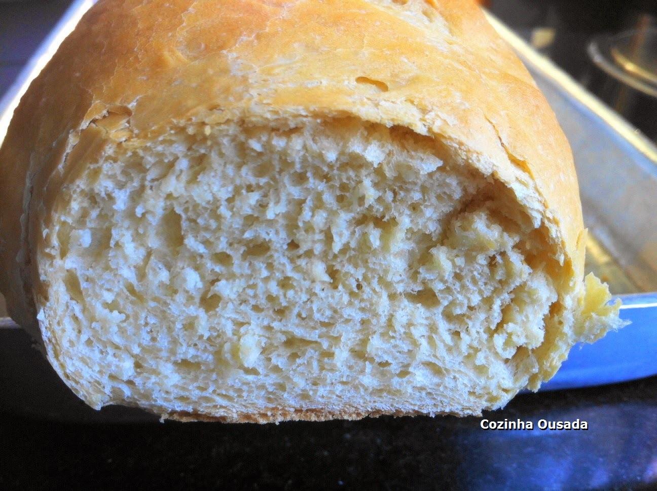 Pão de Farinha de Glúten