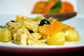 Salada de Chuchu com Laranja