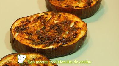 Receta de berenjenas adobadas al horno