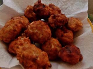 Almôndegas de frango