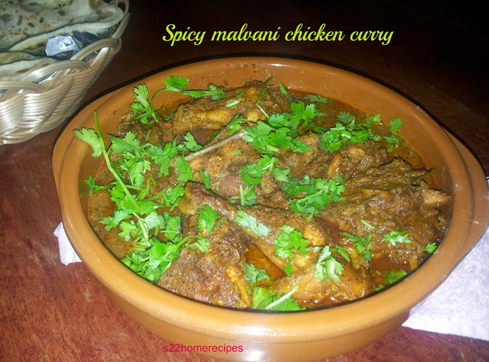 Spicy malvani chicken curry