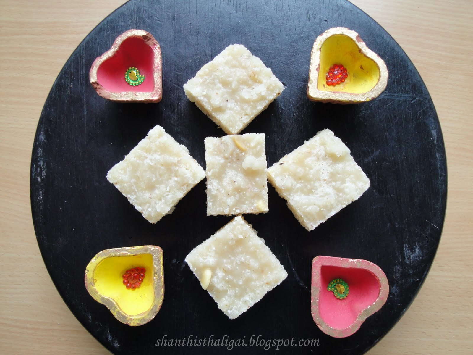 THENGAI (COCONUT) BURFI - KARTHIGAI - A FESTIVAL OF LIGHTS