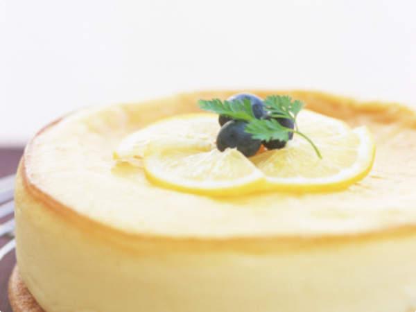 Bolo Gelado de Limão