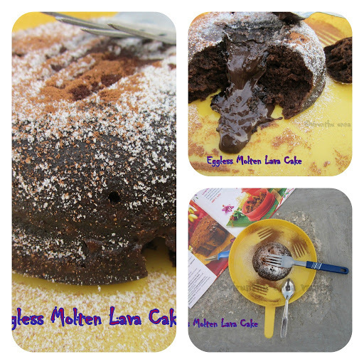 eggless chocolate cake by tarla dalal