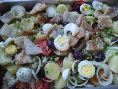 Salada de Merluza com Batatas
