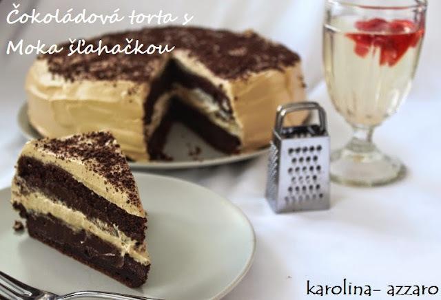 Čokoládová torta s Moka šľahačkou