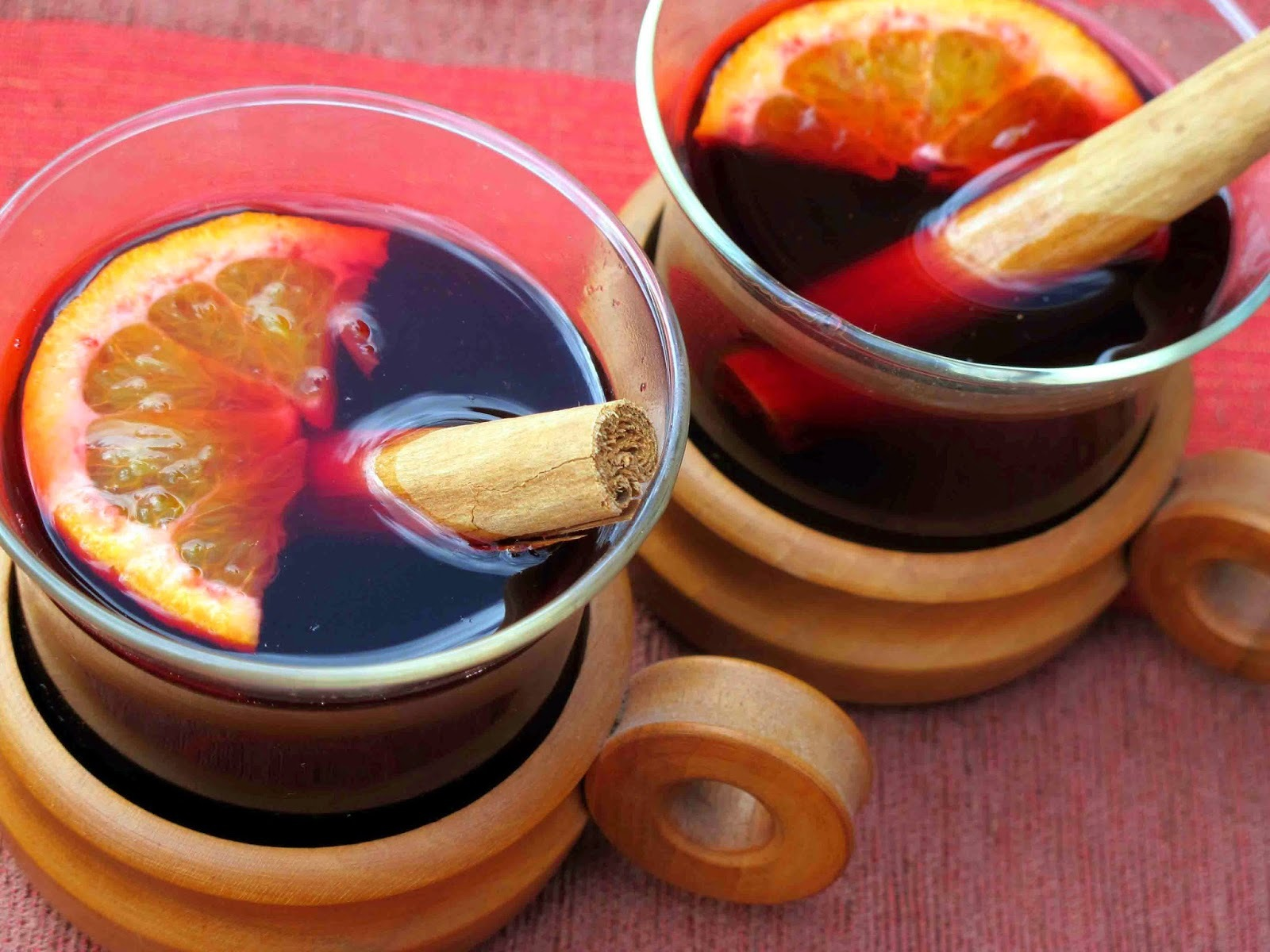 Almost Instant Mulled Wine
