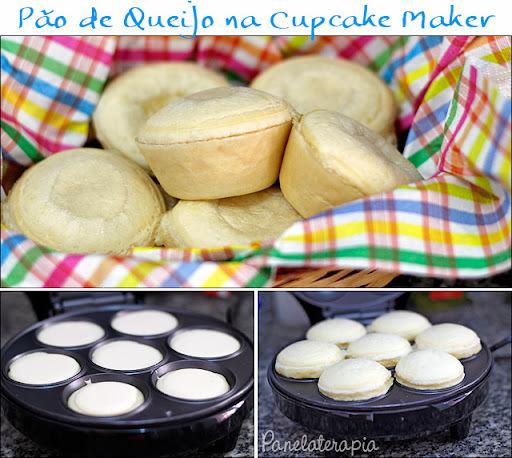 de pão de queijo para maquina de cupcake