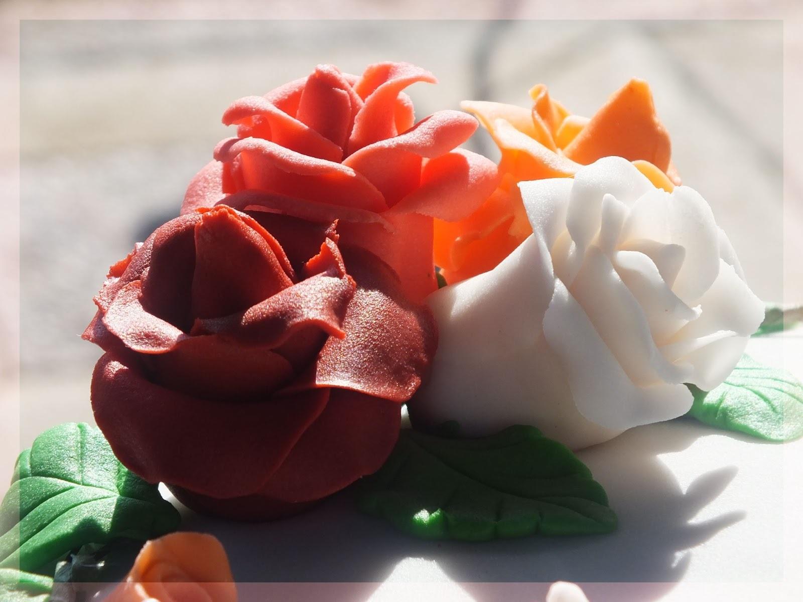 Torta con Bouquet y Evento Expo Gourmet