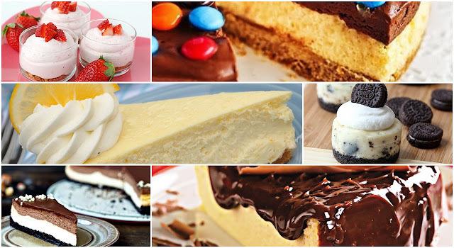 As 10 melhores receitas de cheesecake