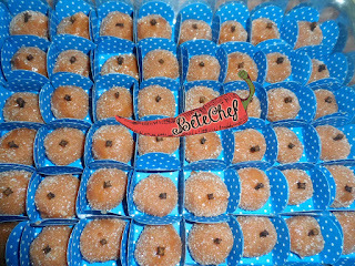 Docinhos de goiabada com coco