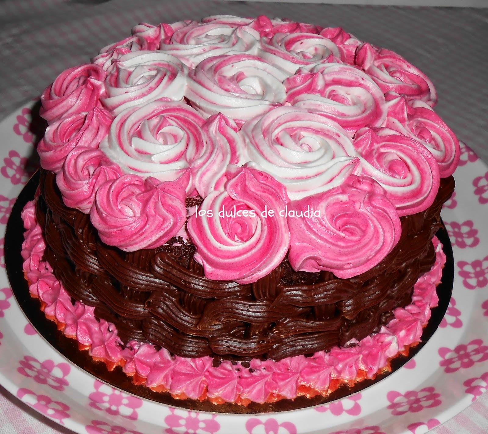 Torta de chocolate para mi cumple