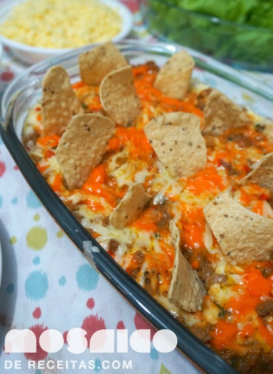 Noite Mexicana - Chilli Com Cheddar e Sour Cream