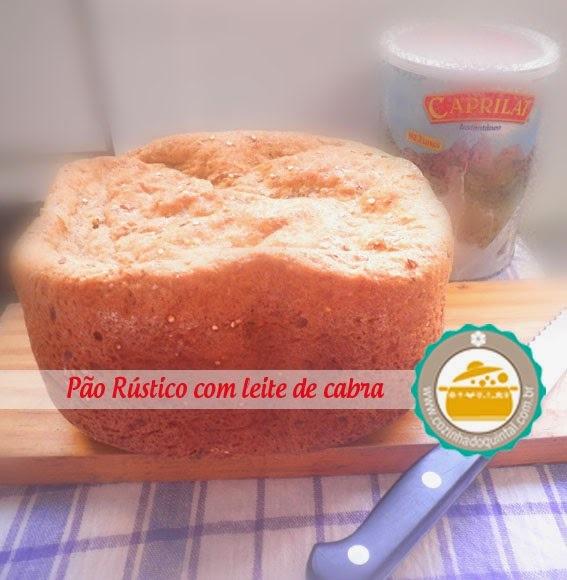 Pão Rústico com Leite de Cabra