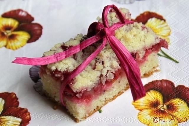 Ovocný koláč z posýpky