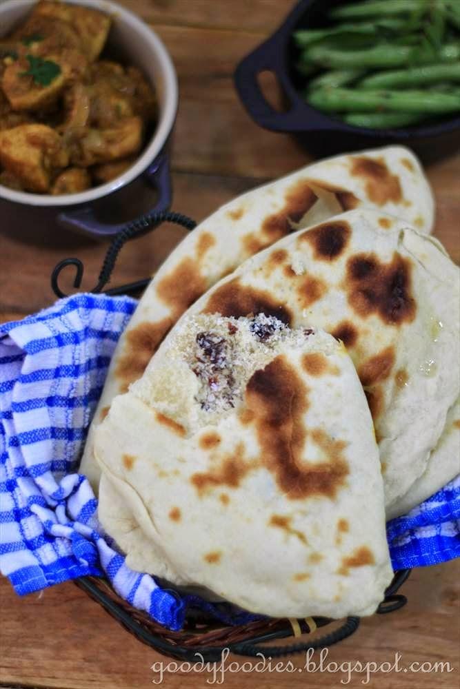Recipe: Peshwari Naan (Indian)