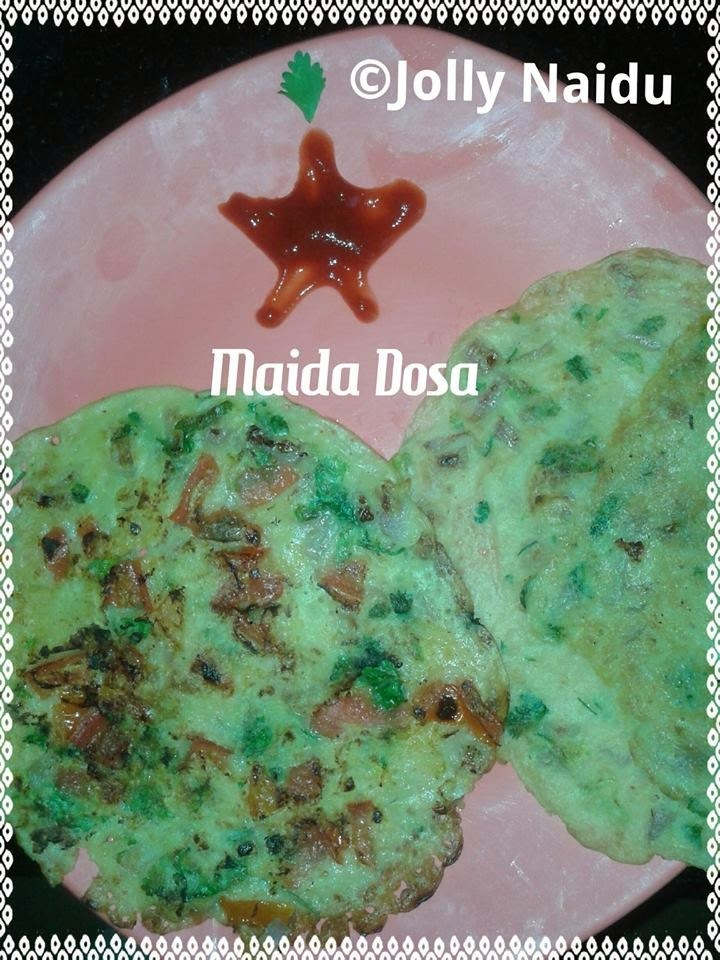 maida for breakfast