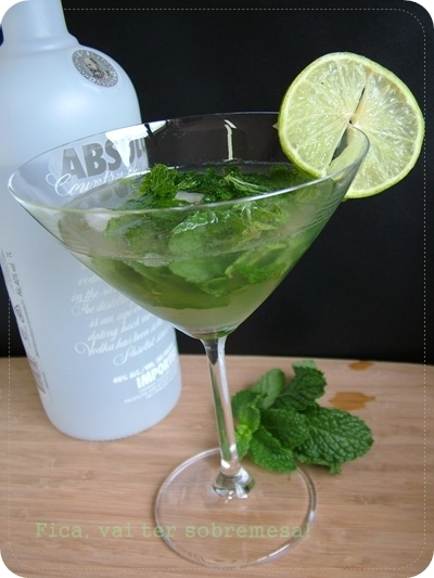 Gimlet com vodka