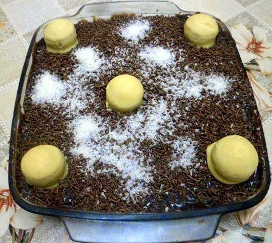 Pave de Nutella e Bombom